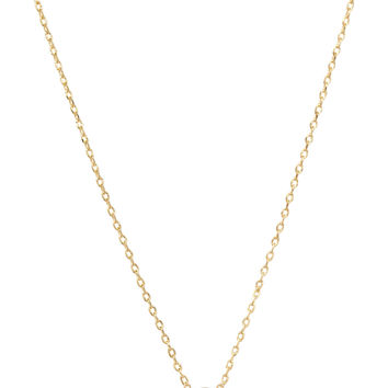 Be Yourself Initial Necklace - C