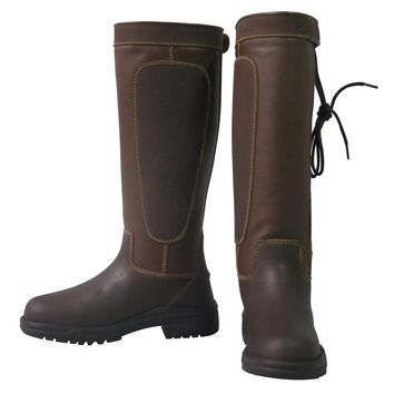 TuffRider Ladies Ajuste Waterproof Leather Boot
