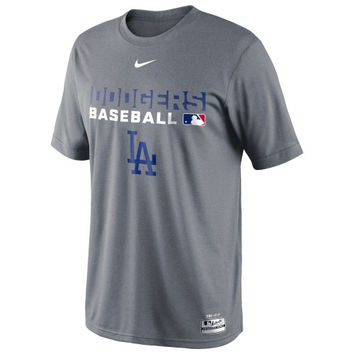 Nike L.A. Dodgers 2014 Legend Team Issue Performance T-Shirt - Gray