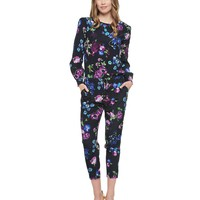 Printed Silk Romper by Juicy Couture