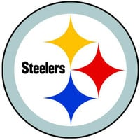 NFL Pittsburgh Steelers Teammate Logo Wall Sticker Decal