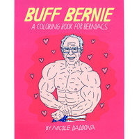 Buff Bernie Coloring Book