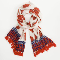 Shop Shell Fleur Tassel Scarf at vineyard vines