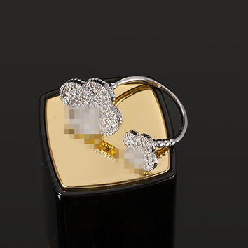 Gift Jewelry Shiny New Arrival Cross Adjustable Stylish Ring [4989635140]
