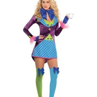 Adult Teatime Mad Hatter Costume- Party City