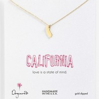 Dogeared 'State of Mind - California' Pendant Necklace | Nordstrom