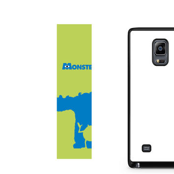 Monster Inc Sulley & Mike Note Edge Case
