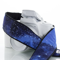 060 Camera Strap Stars Outer Space