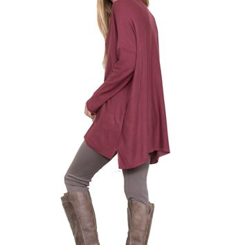 Plus Everyday V-Neck Tunic