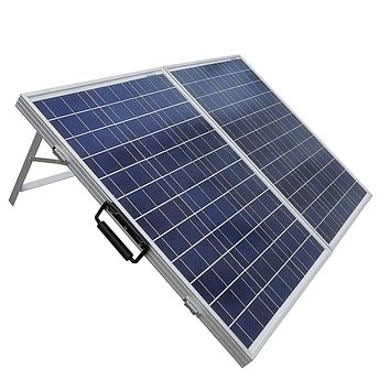 120 Watt Portable Folding Solar Panel 12V Battery Charger with Charge Controller