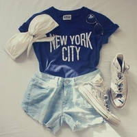 New York City Muscle Tee