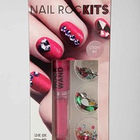 Nail Rock Velvet Nail Art Kit-