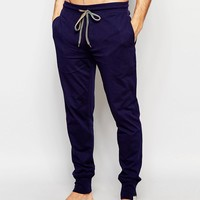 Paul Smith Jersey Cuffed Joggers In Slim Fit