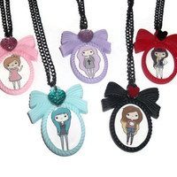 Tumblr Girls, Pastel Goth, Kawaii Cute Necklace, Choose 1