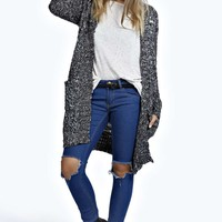 Chella Chunky Knit Long Cardigan