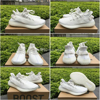 2017 Adidas Yeezy V2 350 Boost V2 Cream White SPLY 350 CP9366 Triple White Sports Running Shoes 350V2 Boosts For Women Men SPLY-350 Sneakers