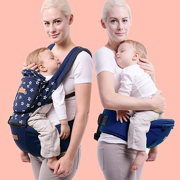 Multifunctional baby suspenders stool baby hold with four seasons stool child backpack double-shoulder