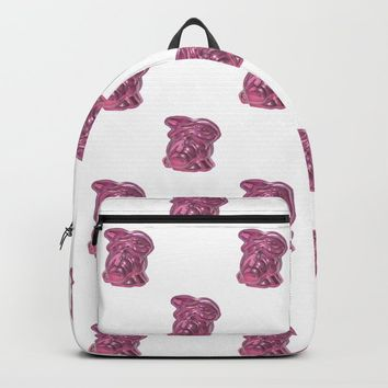 Pink Bunny Backpack by drawingsbylam