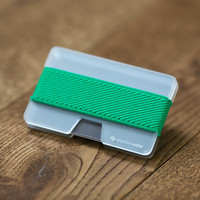 N Wallet, credit card wallet, men and women wallet , plexi slim minimalist , modern design NWPS