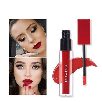 O.TWO.O - Professional Red Lipstick Matte Liquid Lip Stick