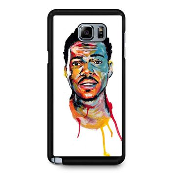 Acrylic Painting Of Chance The Rapper Samsung Galaxy Note 5 Case