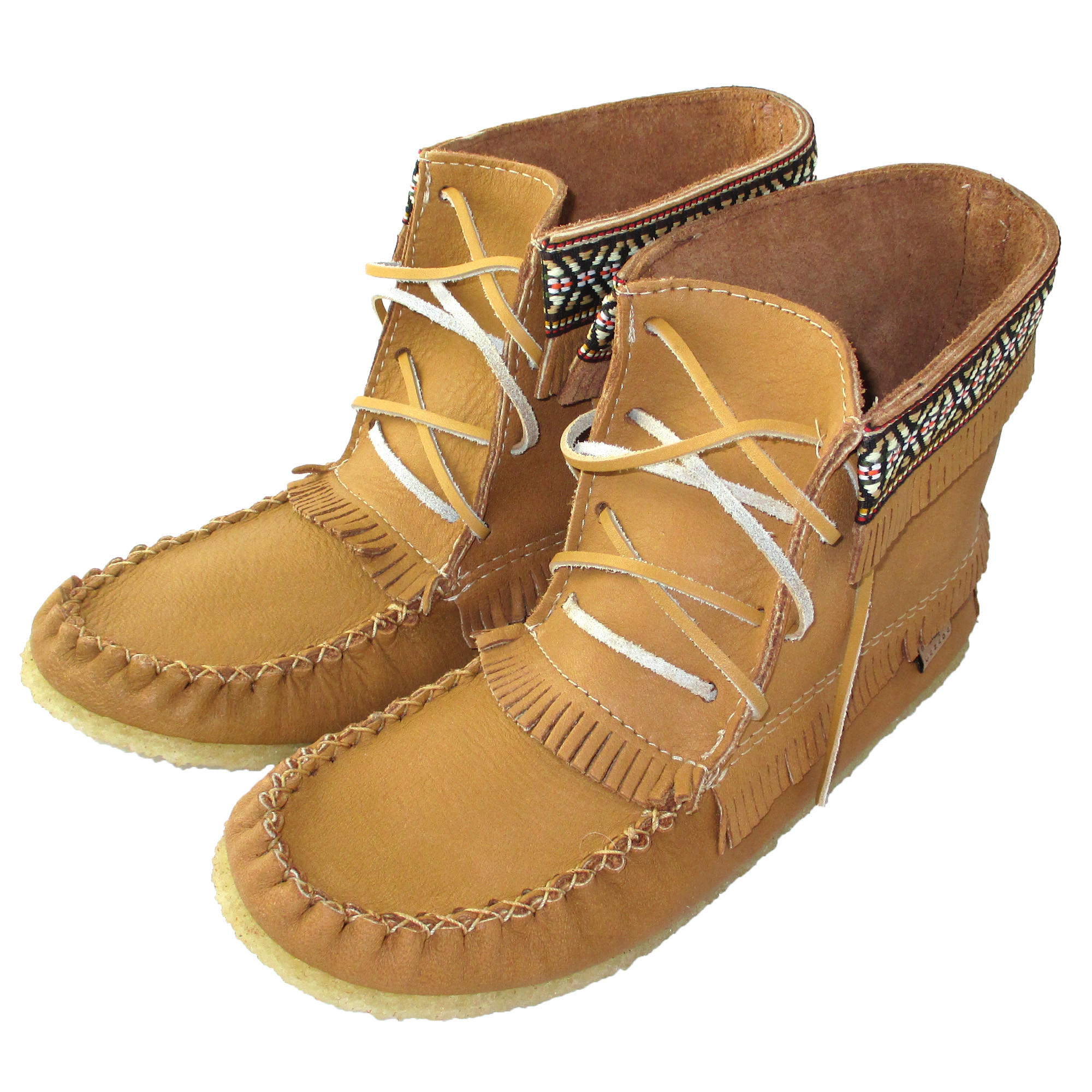 Men s moosehide leather moccasin boots from leather moccasins