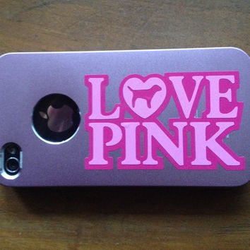 Love Pink Victoria Secret vinyl decal sticker for by wvgraphx