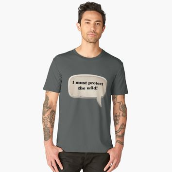 'I must protect the wild emote' Men's Premium T-Shirt by Coooner