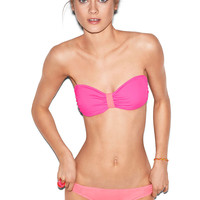 Caged Bandeau Top