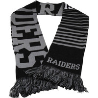 Oakland Raiders Retro Scarf - Black