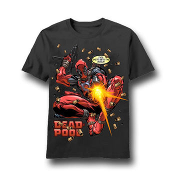 Deadpool Girl Getter Mens T-Shirt