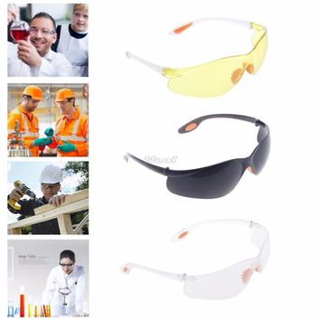 Eye Protection Protective Safety Riding Goggles Vented Glasses Work Lab Dental