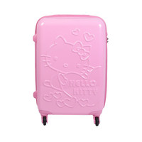 "Hello Kitty 22"" Suitcase: Love Light Pink"