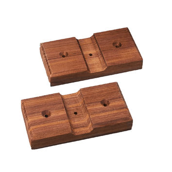 Whitecap Teak Rod Storage Rack Mounting Brackets Pair 60609 60609 725061000000