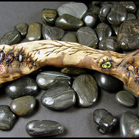 Beadworx - Faery Wand - Legend of the Half Moon