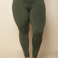 Looking at Me Plus Size Leggings Bottoms+ GS-LOVE