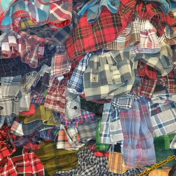 Sale: Unisex Mystery Flannel Shirts, Many Colors & Sizes