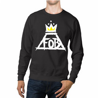Fall Out Boy Yellow Crown Unisex Sweaters - 54R Sweater