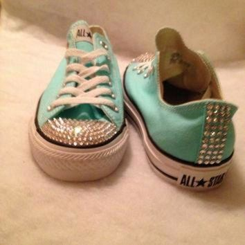 DCKL9 Adult bling converse-custom orders
