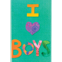 I Love Boys iPhone 5 Case - Multi