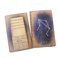 Libra Journal, Zodiac Constellation Journal, Horoscope Diary, Astronomy, Astrology, Cosmos, Universe, Stars, Libra Notebook, Libra Gift