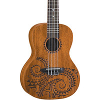 Luna Guitars Tattoo Concert Mahogany Ukulele | Guitar Center