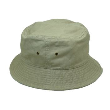 New For Women's Men's Bucket Hat Cap Fishing Boonie Brim visor Sun Safari Beige