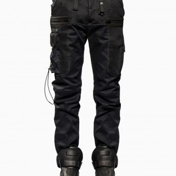 Escalante trousers from F/W2015-16 Marcelo Burlon County of Milan collection in black