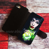 Maleficent Wallet iPhone cases Sleeping Beauty Samsung Wallet Leather Phone Case