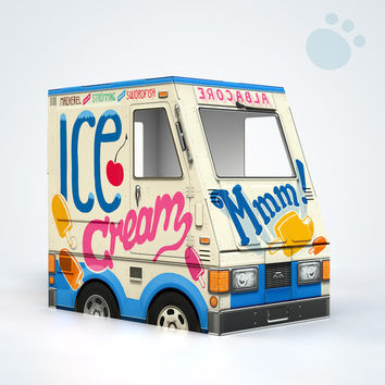 12-pack OTO Ice Cream Truck for Cats!