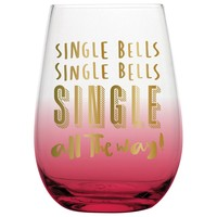 Single Bells Stemless Wine Glass