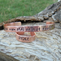 The Hunger Games Bracelet and Ring- You Love me, Real or Not Real