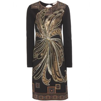 emilio pucci - embellished stretch dress