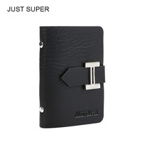 New Men & Women Business Cards Wallet Simple PU Leather Credit Card Holder/Case Card Holder Fashion Bank Cards Bag ID Holders